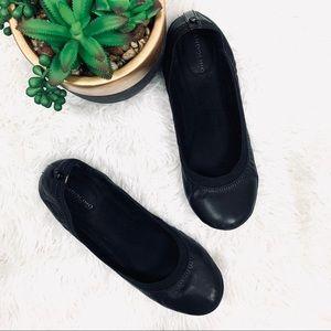 Bandolino Leather black ballerina flats